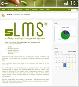 TSRS sLMS - Home Page